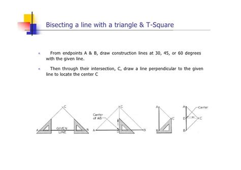 Split Bedroom Plan engineering drawing geometric construction lesson 4