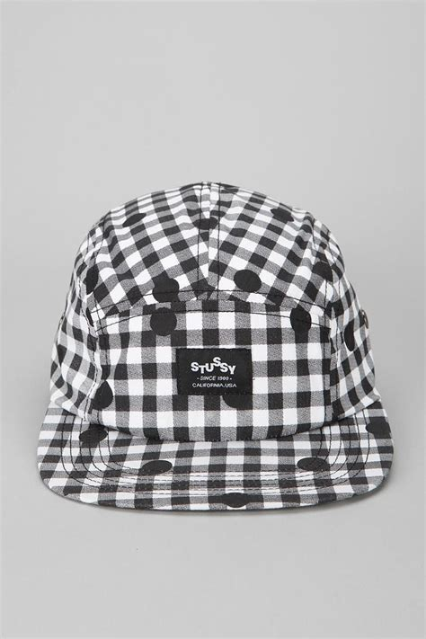 Topi Stussy Cap stussy dot 5 panel hat urbanoutfitters uomens
