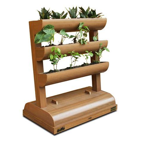 dc america city garden chem wood vertical planter 3