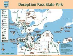 Deception Pass State Park Map whidbey island whidbey island state park maps yabsta