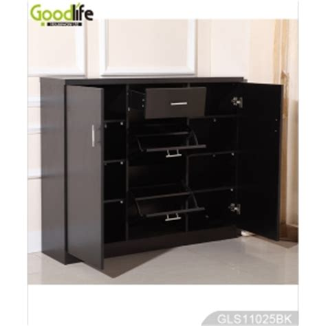 Storage Cabinet For Living Room Wooden Storage Cabinet With Shoe Rack For Living Room Gls11025