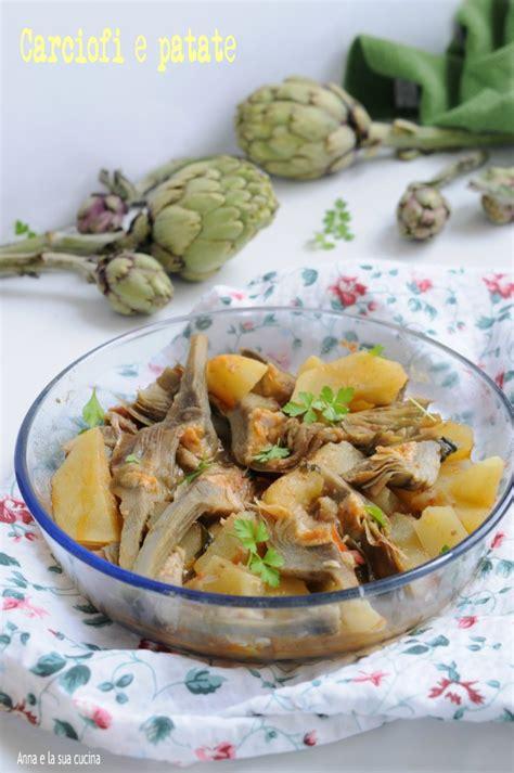 come si cucinano i carciofi in padella carciofi e patate e la sua cucina