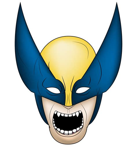 wolverine face icon by ft033 on deviantart
