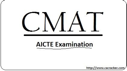 Cmat For Mba In Gujarat by Cmat 2013 Eligibility Dates Application
