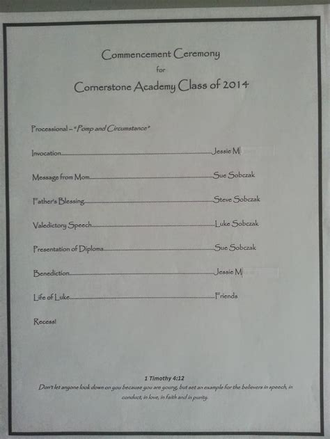 preschool graduation program templates free 15 best christian graduation cards images on