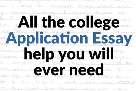 College Application Essay Service Everything You Need To About College Application Essays Collegexpress
