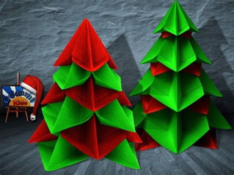 step by step christmas tree oragami wiki with pics クリスマスの飾りを折り紙で手作りする方法とは 簡単な折り方もご紹介