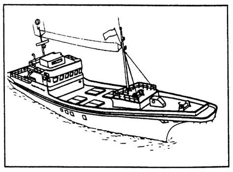 tipos de barcos para colorear dibujos de embarcaciones pesqueras para pintar colorear