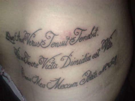 latin tattoo gallery latin calligraphy text tattoo tattooimages biz