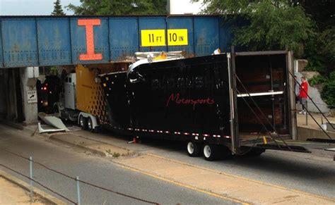 corvette truck truck carrying four corvettes to bloomington gold crashes