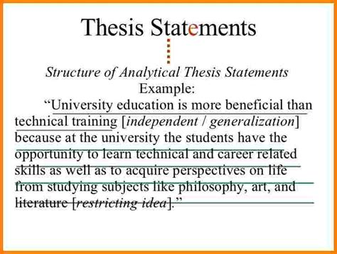 what does a thesis statement look like 5 what does a thesis statement look like statement