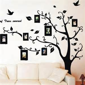 Family Tree Stickers For Walls Family Tree With Photo Frames