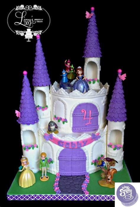 Princess Sofia Castle Cake princess castle sofia the and castles on