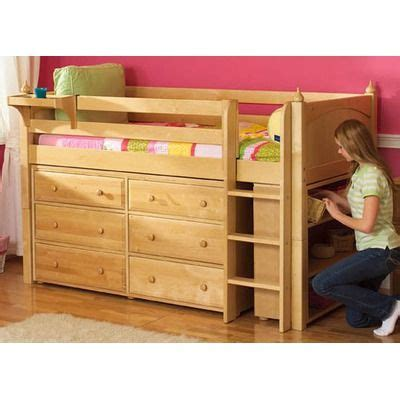 twin box low loft bed with dressers 1000 images about jessie s bed ideas on