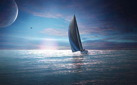 x sailboats fantasy art sailboats seascapes wallpaper allwallpaper