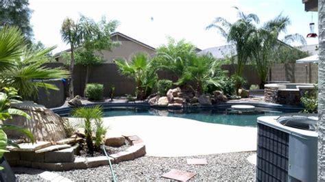 arizona backyard how to landscape backyard with pool in az