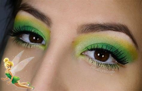 makeup tutorial tinkerbell cute tinkerbell makeup halloween pinterest