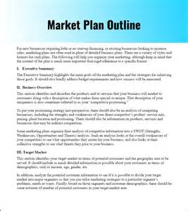 marketing outline template marketing strategy planning template pdf word