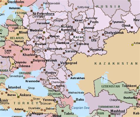 maps kazan russia kazan map