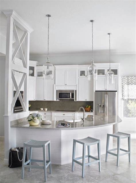 coastal home design studio llc best 25 curved kitchen island ideas on pinterest