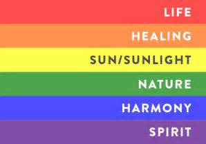 lgbt meaning of the color of the rainbow the agenda what does the rainbow flag