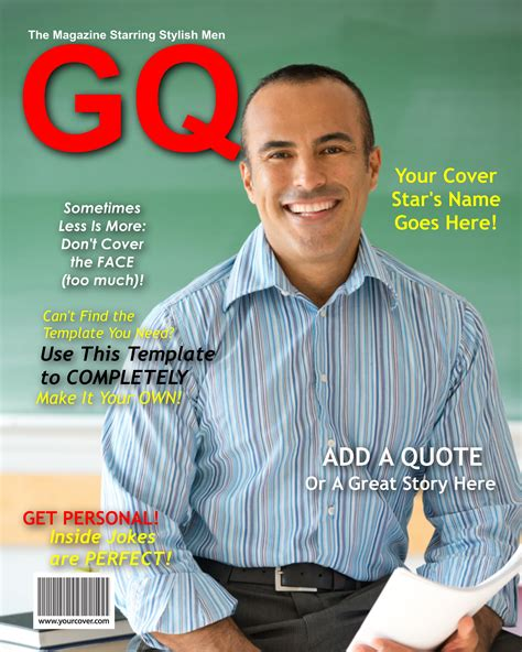 Gq Cover Template Magazine Cover Templates Magazine Cover Templates Fake Covers Template Gq Cover Template Psd