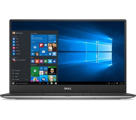 Dell Xps 13 Touchscreen Laptop dell xps 13 touchscreen laptop silver deals pc world