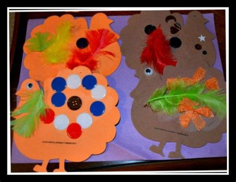 free thanksgiving craft ideas for gobble gobble foam turkey allfreekidscrafts