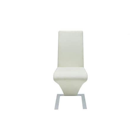 chaise pas cher lot de 6 lot de 6 chaises blanche achat vente chaise salle a