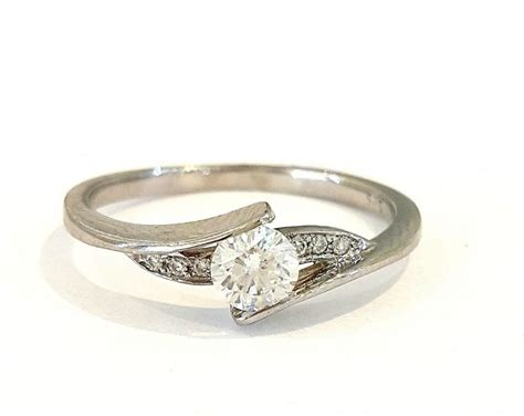unique deco engagement rings engagement ring 14k white gold with diamonds unique engagement ring bridal jewelry