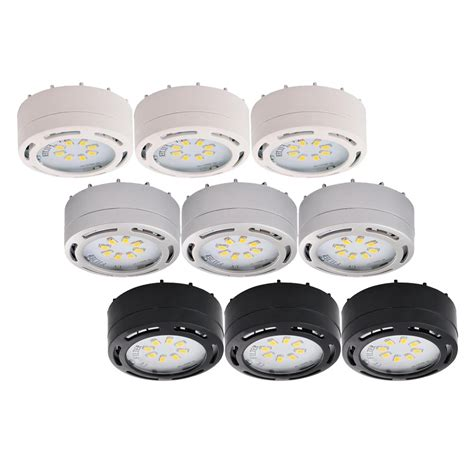 120 Volt Led Puck Lights 3 Pk Eco Energy Management 120 Volt Led Lights