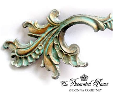 painting old drawer pulls the decorated house how to create a beautiful aged