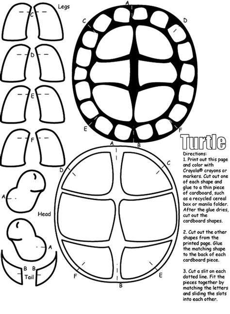 turtle shell template ninja turtle party pinterest