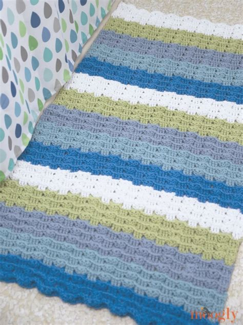 patterns for rugs free pattern waves crochet rug