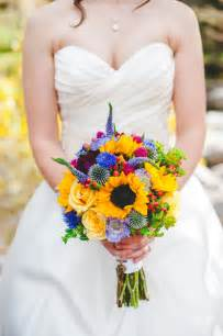 Fairytale Wedding Centerpieces by Warmth And Happiness 20 Perfect Sunflower Wedding Bouquet