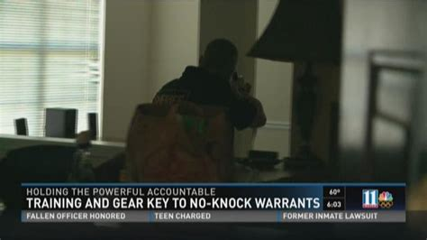 Clayton County Warrants Search Officer S Points To Dangers Of No Knock Warrants