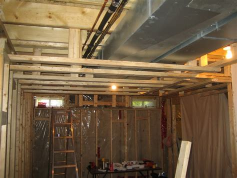 coast of araska basement ceiling framing