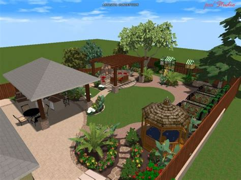 home design 3d outdoor and garden tutorial 3d landscape design rendering gallery aaa landscape