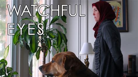 muslims and dogs watchful a muslim and
