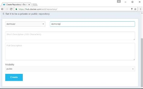 docker tutorial point docker public repositories