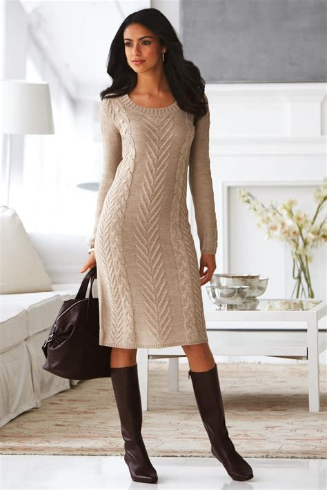 knit dress cable knit sweater dress mis tejido cable