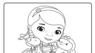 printable coloring pages disney jr free coloring pages of disney doc mstuffin 2386