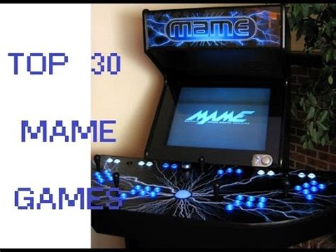best mame top 30 mame best classic arcade best pc
