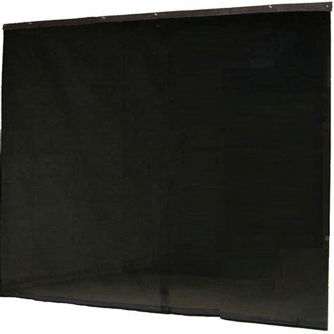 fresh air screens 16 ft x 7 ft 1 zipper garage door