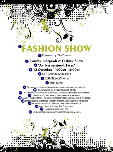 Design Your Own Home Online Australia by Fashion Show Flyer Ticket Printing