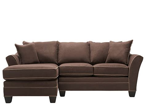 foresthill sectional foresthill 2 pc microfiber sectional sofa sectional