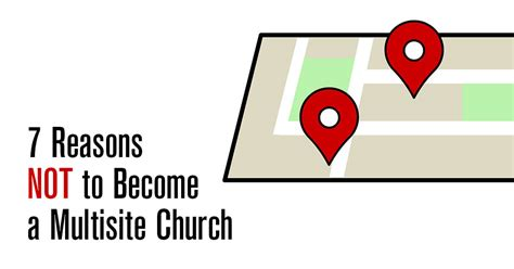 Reasons Not To Worship by 7 Reasons Not To Become A Multisite Church