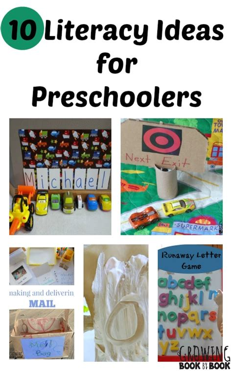 ideas for kindergarten favorite literacy ideas for preschool