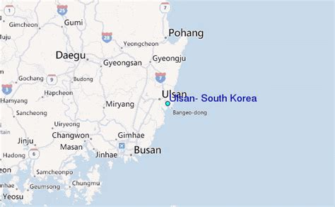 regional map local map detailed map ulsan south korea tide station location guide