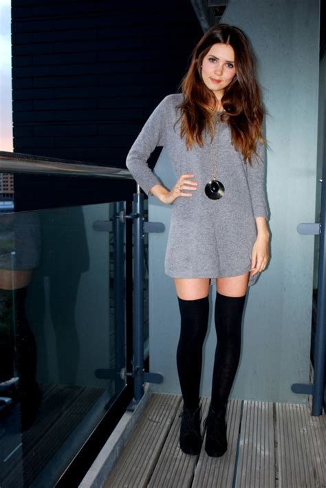 the knee socks style the fashion tag